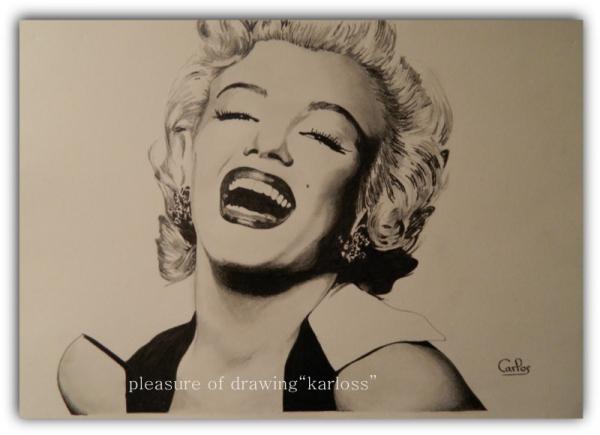 Marilyn Monroe par Karloss